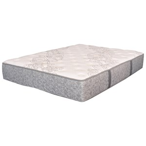 King Plush Pocketed Coil Mattress and Motion Essentials III Divided King Adjustable Base