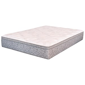 King Super Pillow Top Pocketed Coil Mattress and Motion Essentials III Divided King Adjustable Base