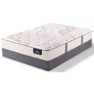 "Queen Plush Pocketed Coil Mattress and 5"" StabL-Base® Low Profile Foundation"