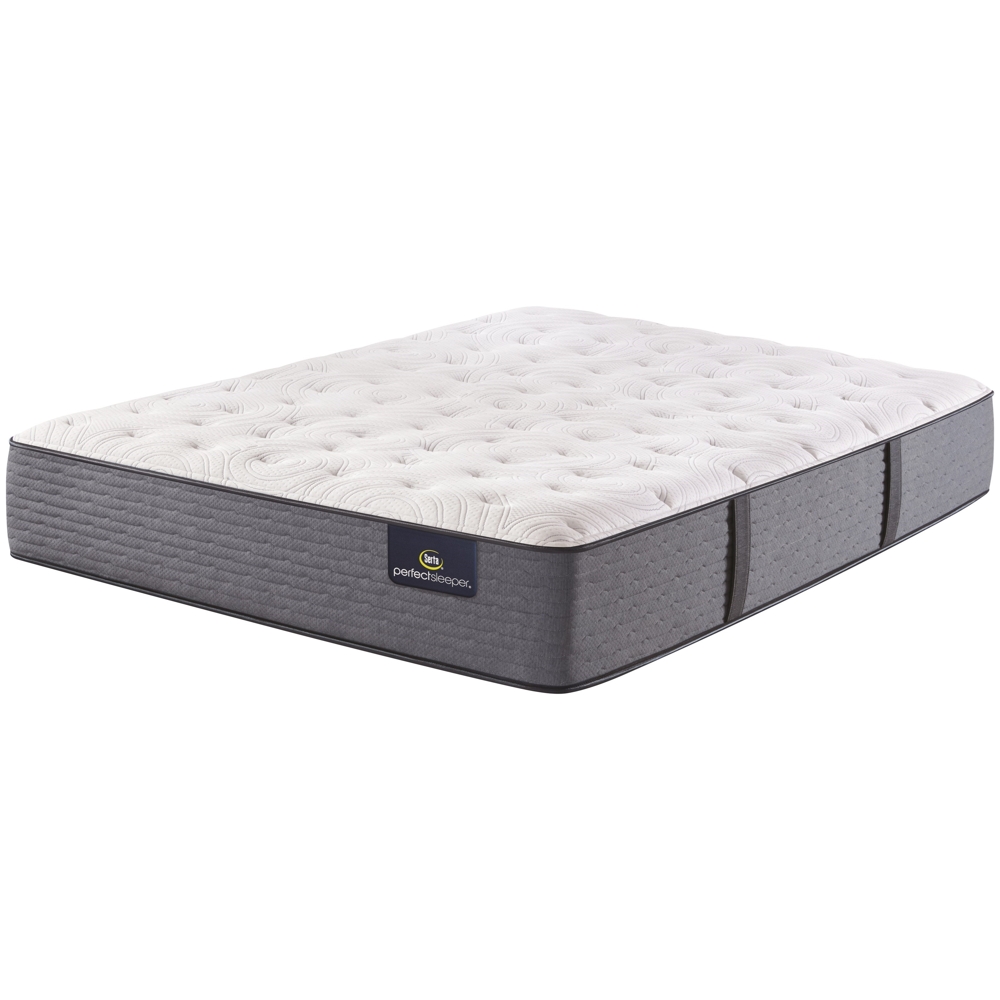 "Chastain Full 13"" Extra Firm Mattress by Serta at Morris Home"