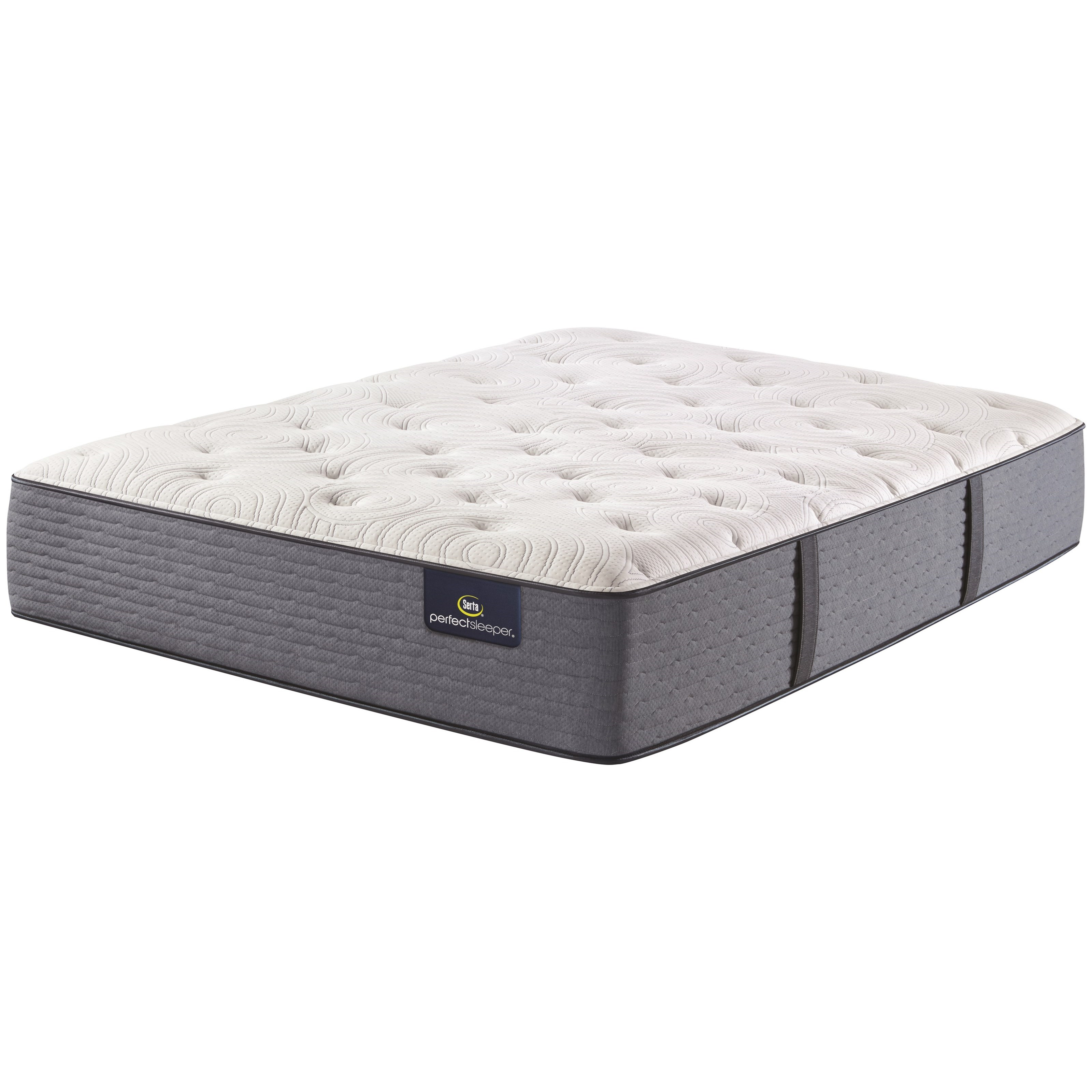 """Morning Excellence Plush Twin 14"""" Plush Mattress by Serta at Godby Home Furnishings"""