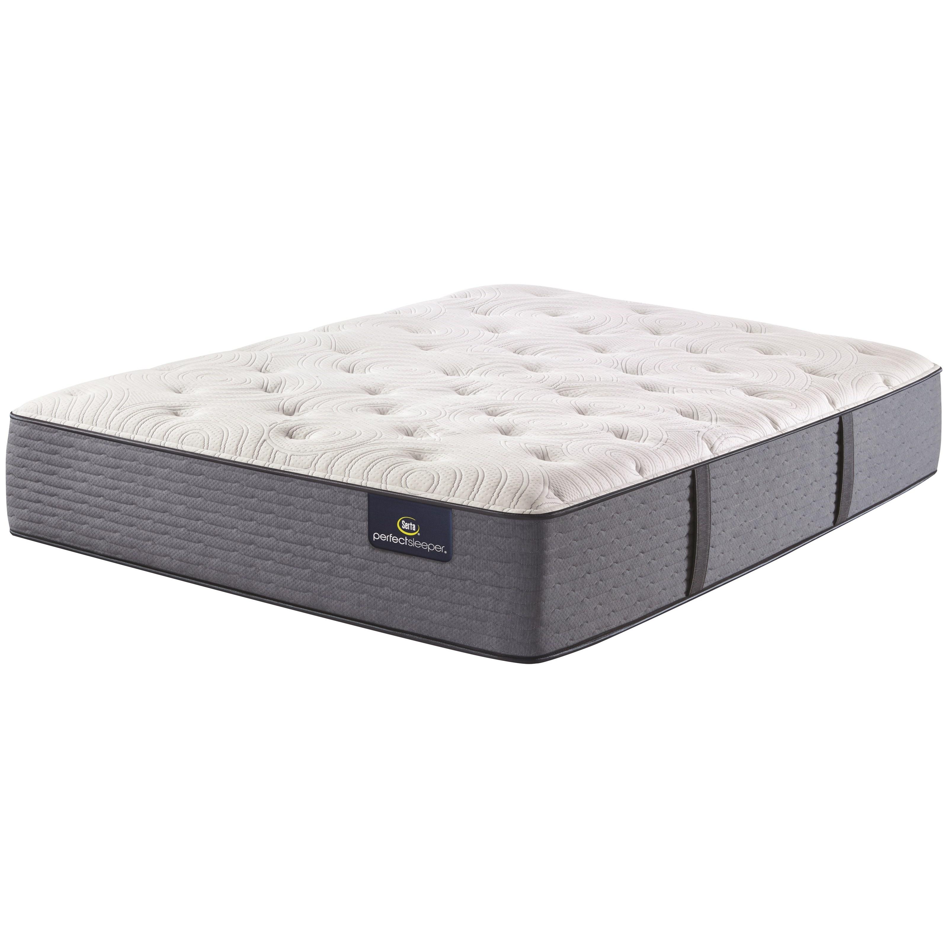 """Renewed Night Plush King 14"""" Plush Mattress by Serta at Darvin Furniture"""