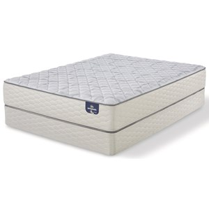 "Twin Firm Mattress and 9"" StabL-Base® Foundation"