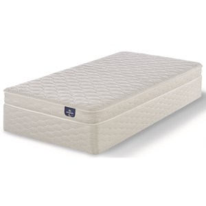 """Full Firm Foam Mattress and 5"""" StabL-Base® Low Profile Foundation"""