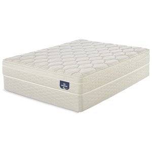 "Twin Euro Top Mattress and 9"" StabL-Base® Foundation"