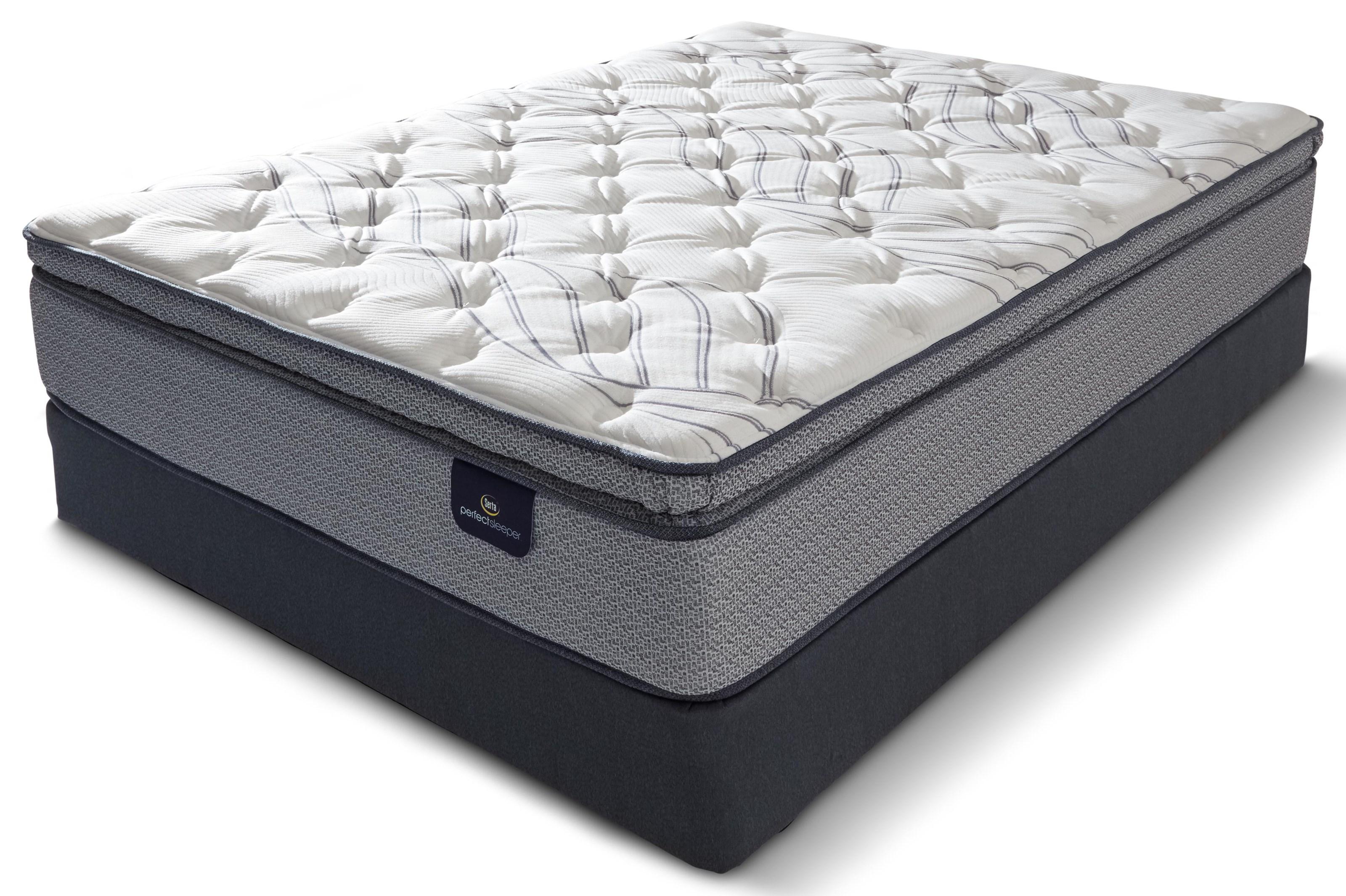 Aiden Perfect Sleeper KG AIDEN PILLOW TOP MATTRESS by Serta Canada at Stoney Creek Furniture