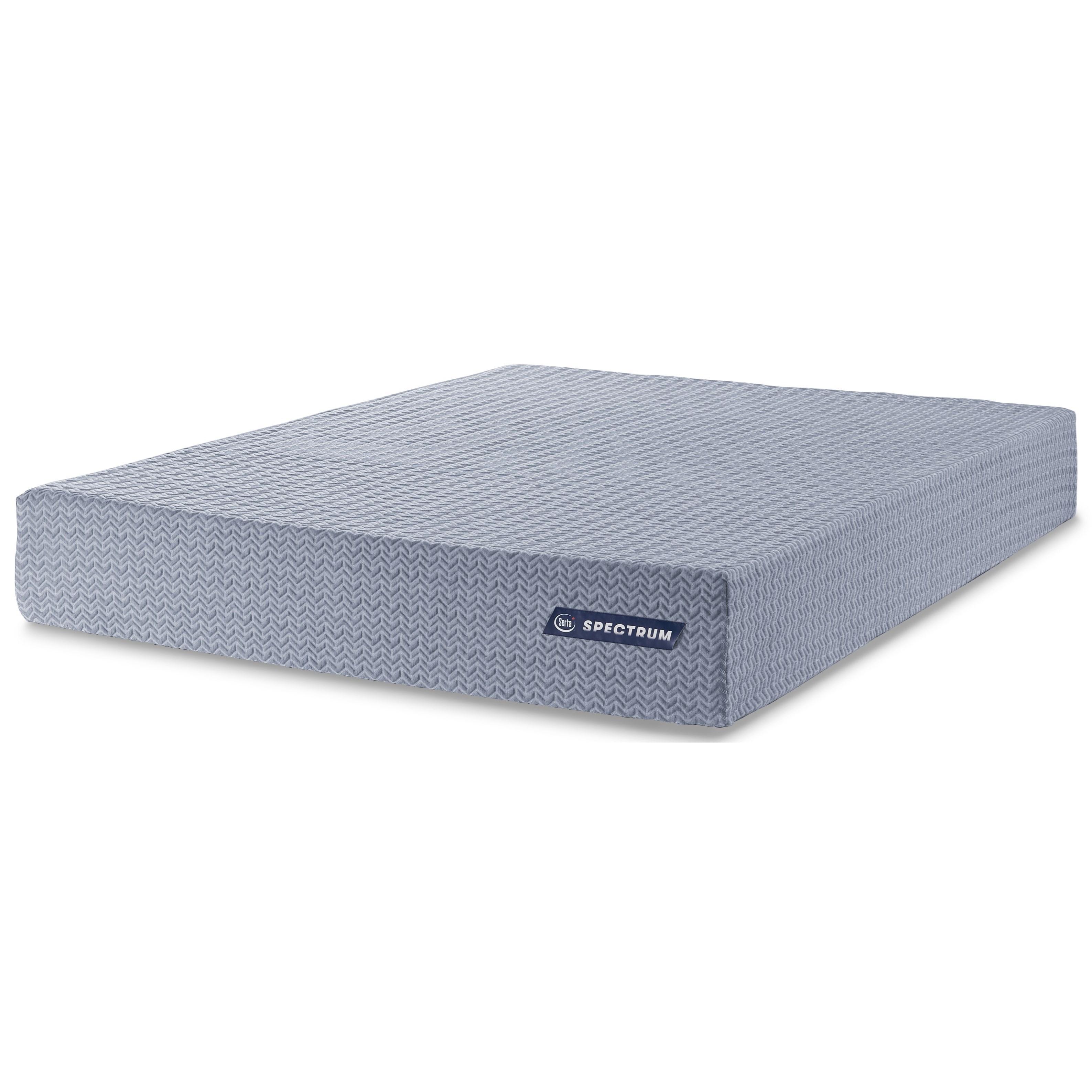 "Spectrum 10 Queen 10"" Plush Memory Foam Mattress by Serta Canada at Stoney Creek Furniture"