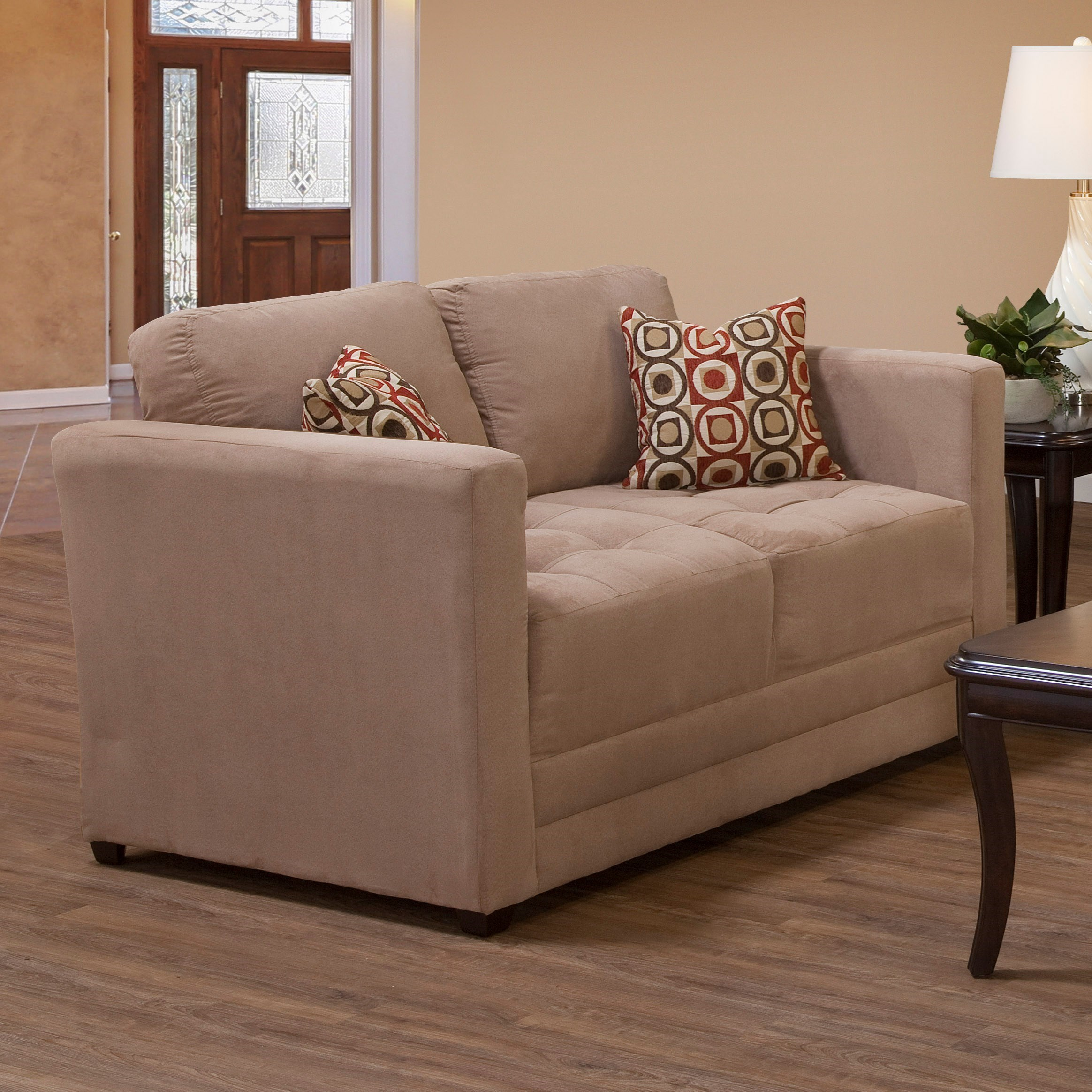 1085 Loveseat by Serta Upholstery by Hughes Furniture at Rooms for Less