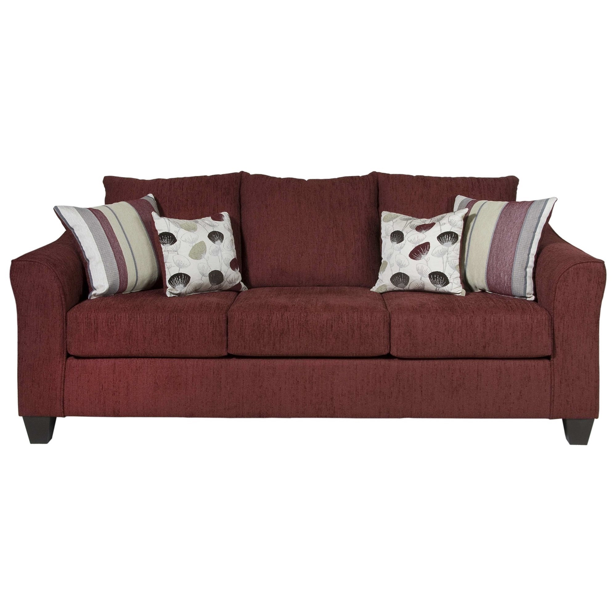 1225 Casual Upholstered Sofa by Serta Upholstery by Hughes Furniture at Rooms for Less