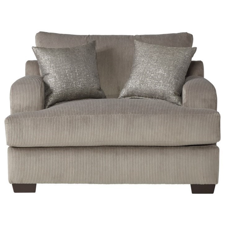 14100 Cuddle Chair by Serta Upholstery by Hughes Furniture at Rooms for Less