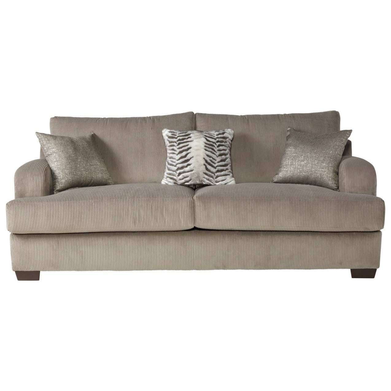14100 Sofa by Serta Upholstery by Hughes Furniture at Rooms for Less
