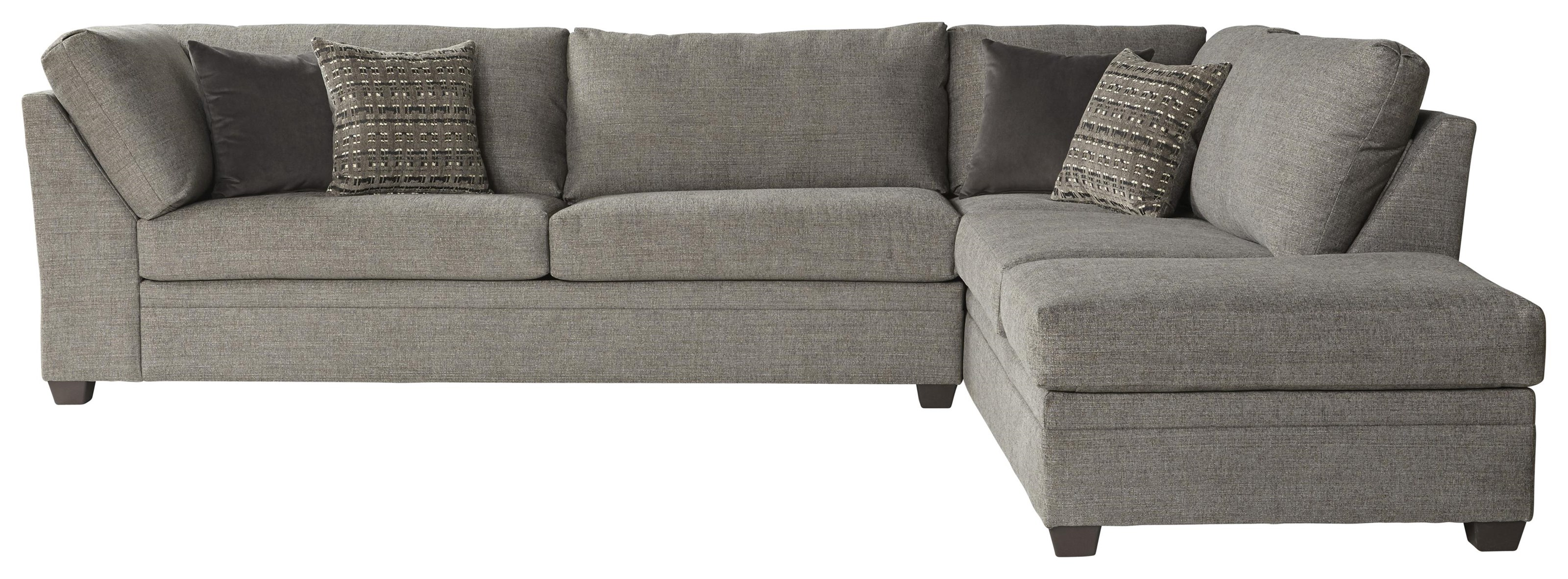 14500 2 Piece Sectional by Serta Upholstery by Hughes Furniture at VanDrie Home Furnishings