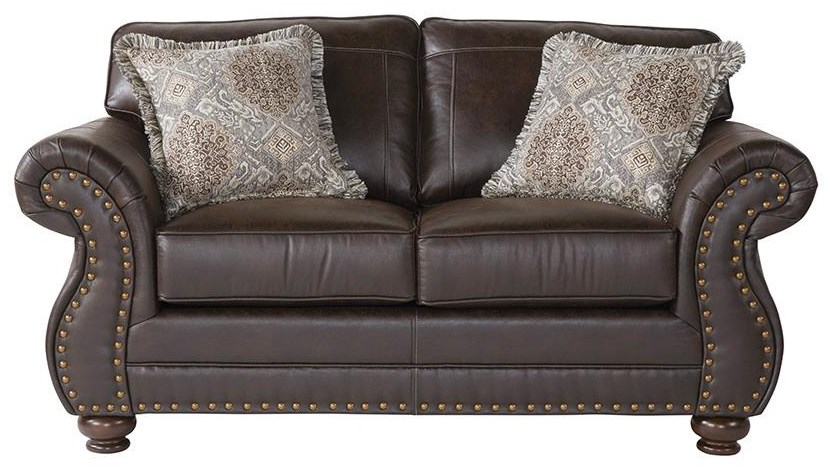 1750 Loveseat by Serta Upholstery by Hughes Furniture at Darvin Furniture
