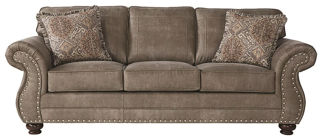 """1750 91"""" Sofa by Serta Upholstery by Hughes Furniture at Darvin Furniture"""