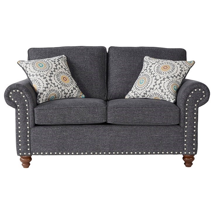17655 Traditional Loveseat by Serta Upholstery by Hughes Furniture at Rooms for Less