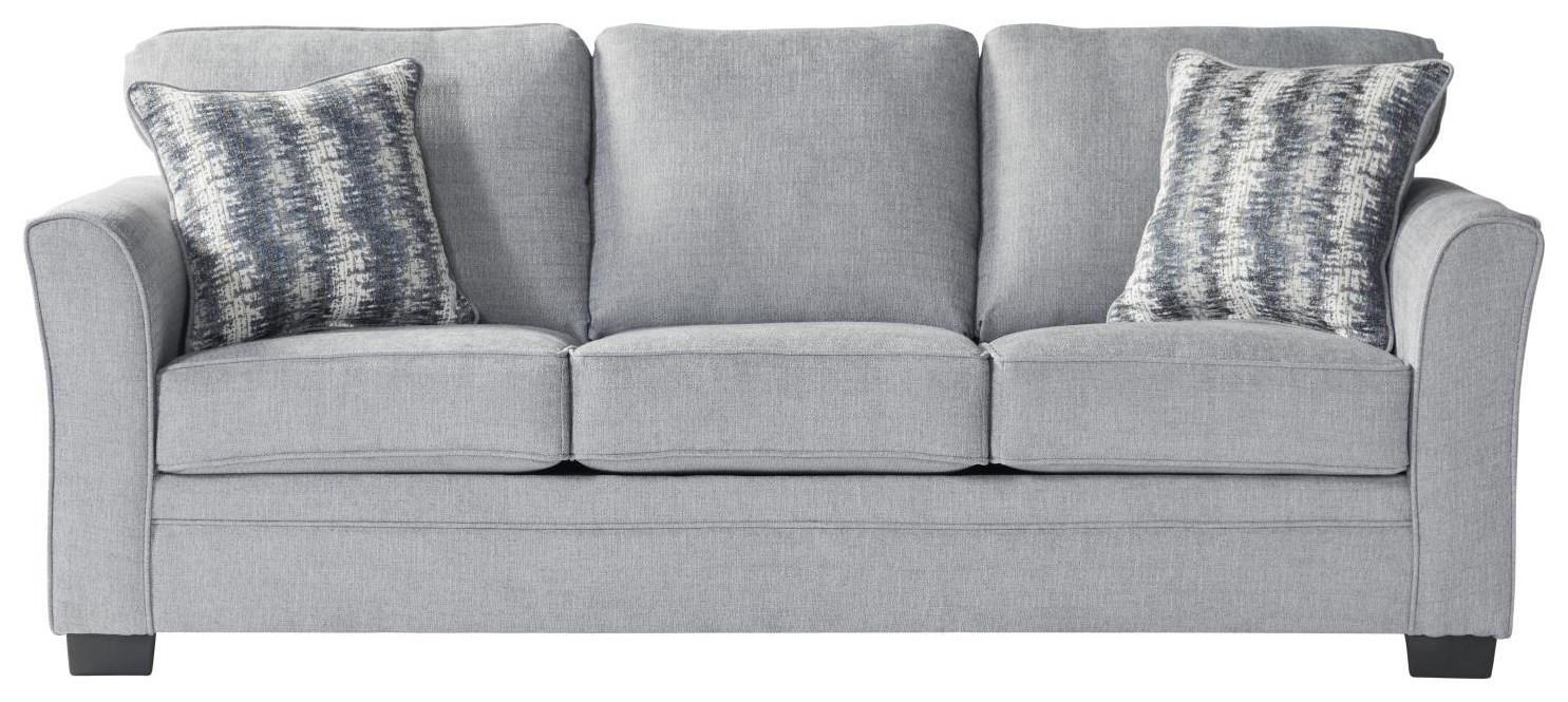1850 Sleepers Full Mist Sleeper by Serta Upholstery by Hughes Furniture at Furniture Fair - North Carolina