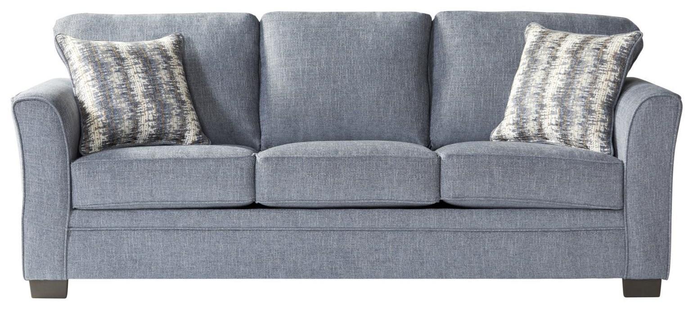 1850 Sleepers Full Ocean Sleeper by Serta Upholstery by Hughes Furniture at Furniture Fair - North Carolina