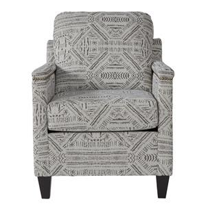 Accent Chair w/ Track Arms