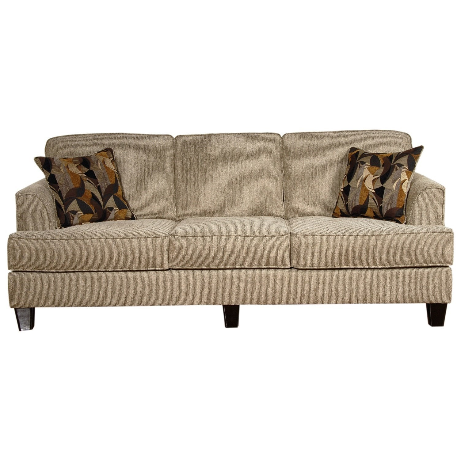 5600 Contemporary Sofa by Serta Upholstery by Hughes Furniture at Rooms for Less