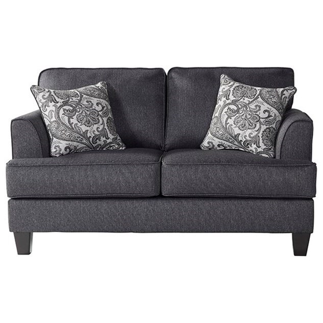 5625 Loveseat by Serta Upholstery by Hughes Furniture at Rooms for Less