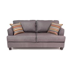 Transitional 2-Seater Full Sleeper Sofa