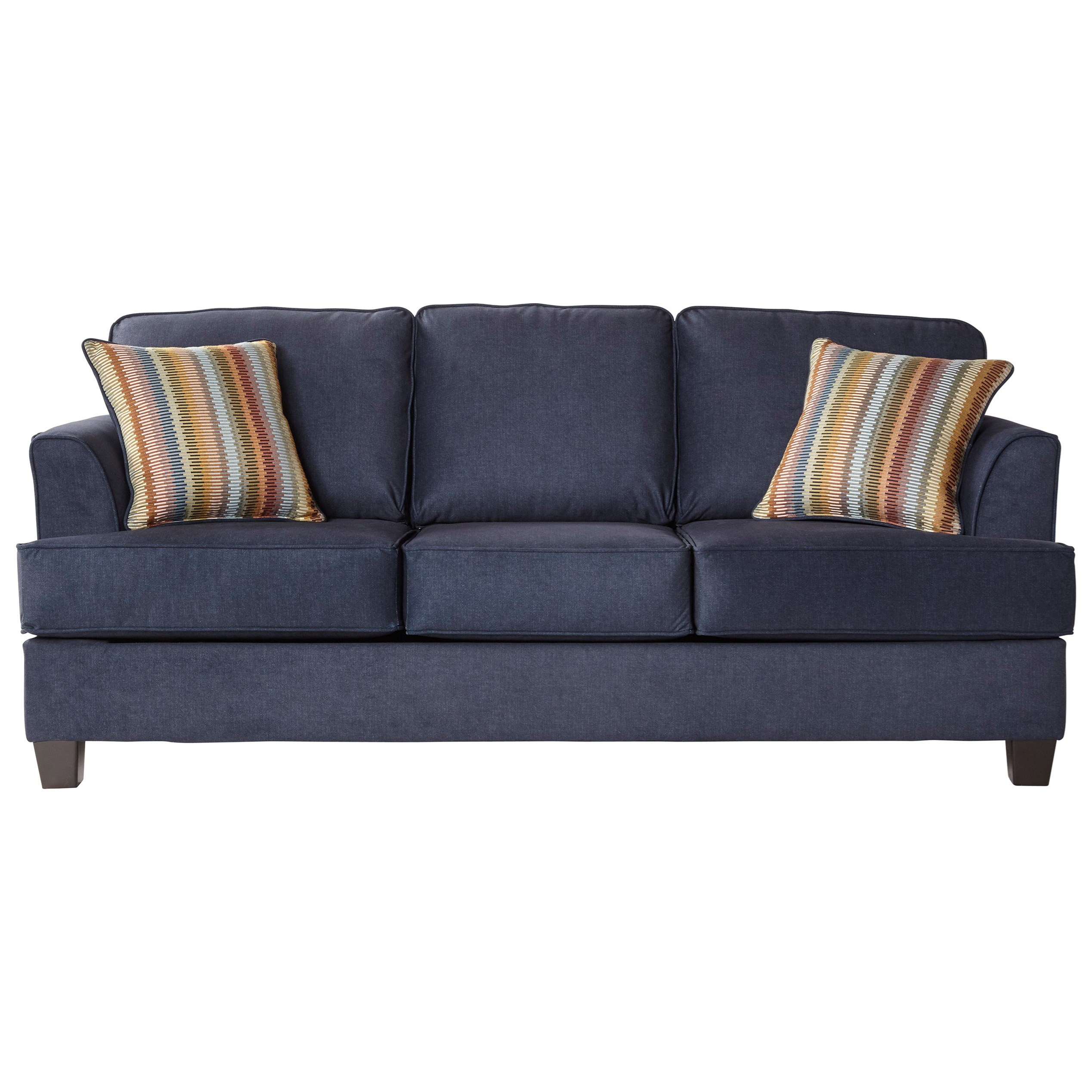 5650 Queen Sofa Sleeper by Serta Upholstery by Hughes Furniture at Rooms for Less