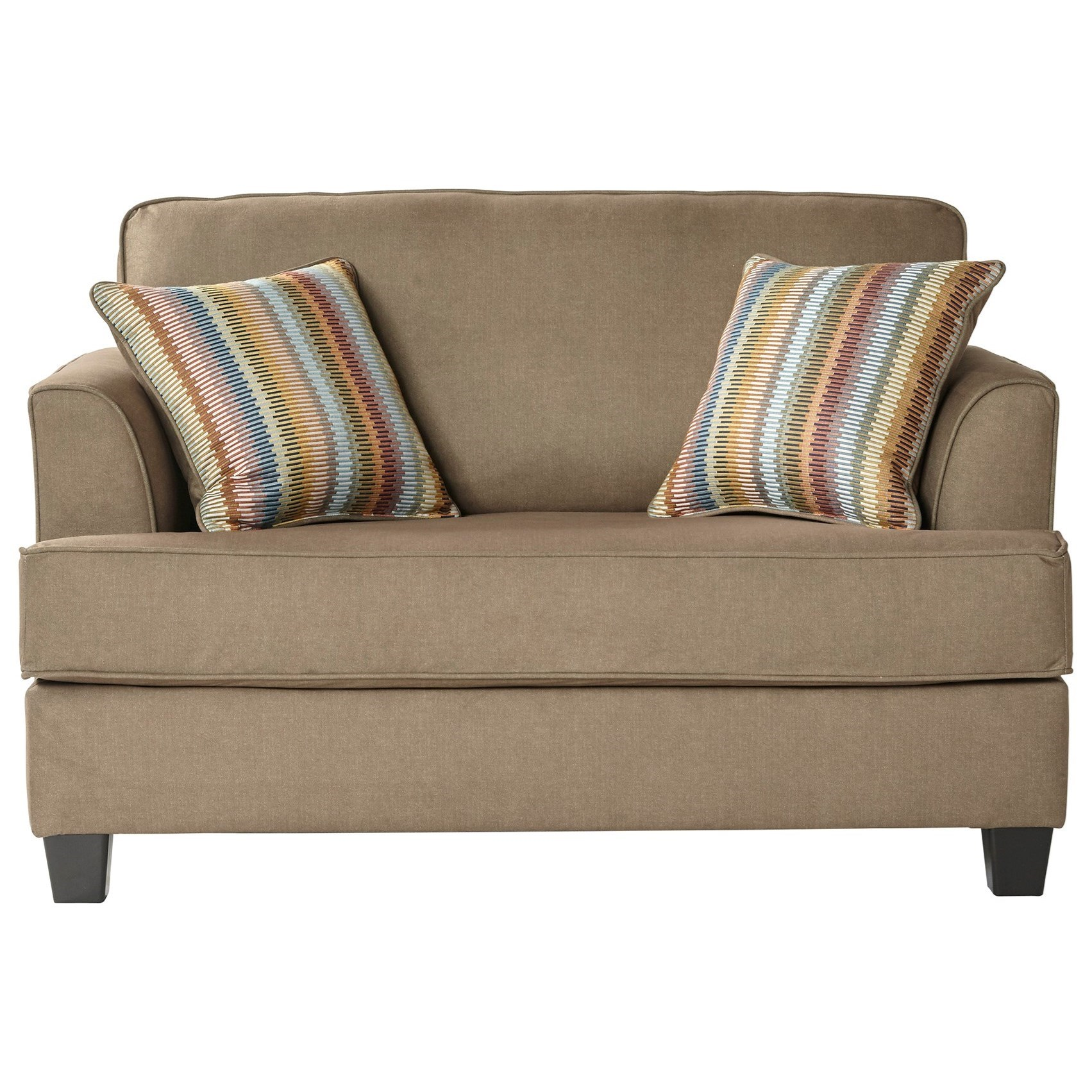 5650 Twin Sleeper Oversize Chair by Serta Upholstery by Hughes Furniture at Rooms for Less