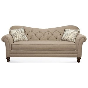 Sofa with Diamond Tufted Back