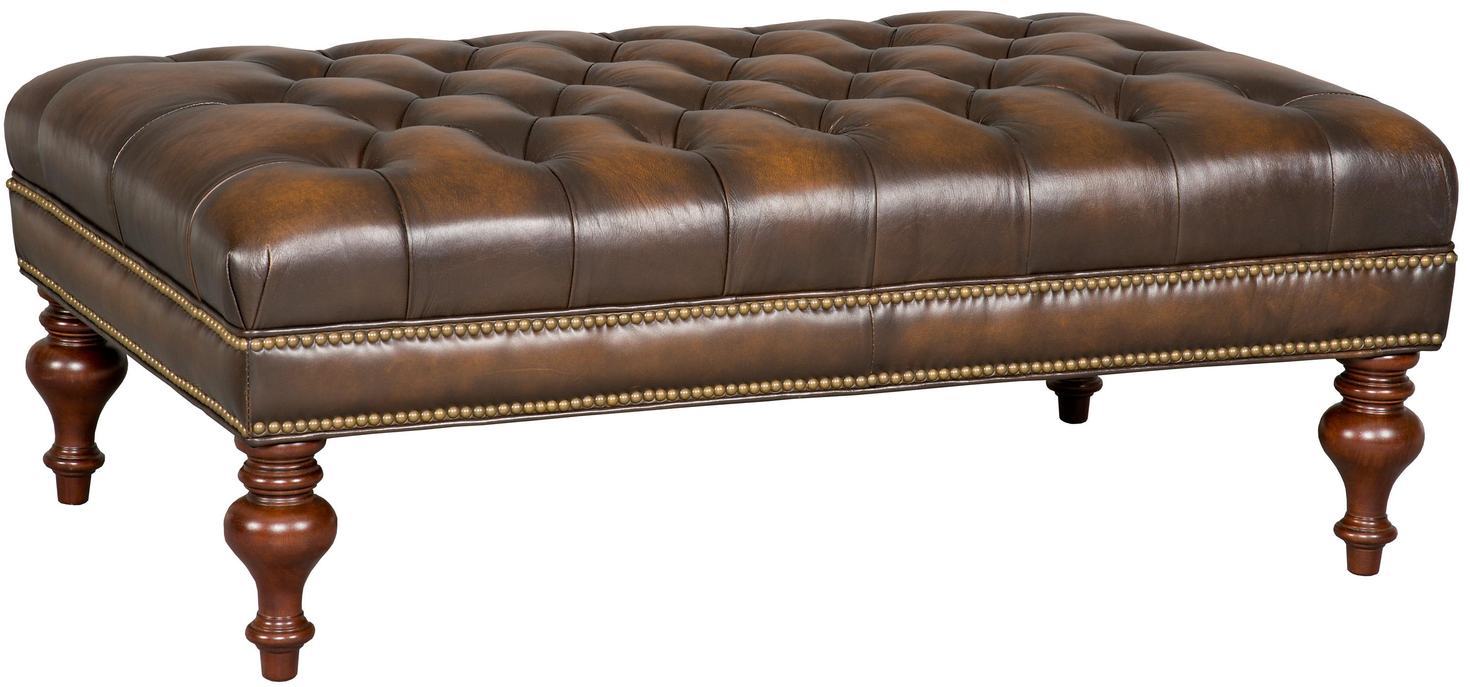Accent Ottomans Cocktail Ottoman by Hooker Furniture at Miller Waldrop Furniture and Decor