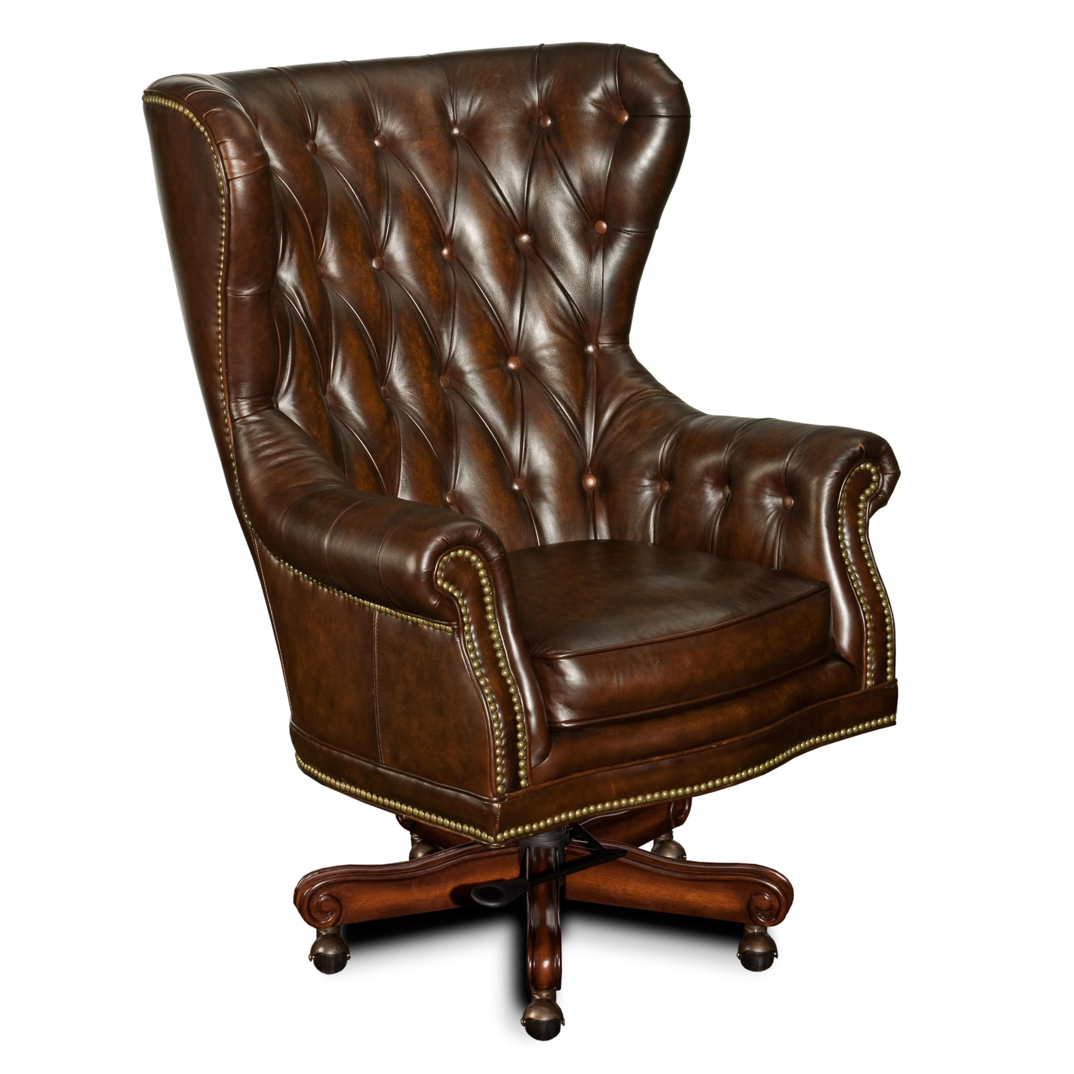 Executive Seating Executive Swivel Chair by Hooker Furniture at Mueller Furniture