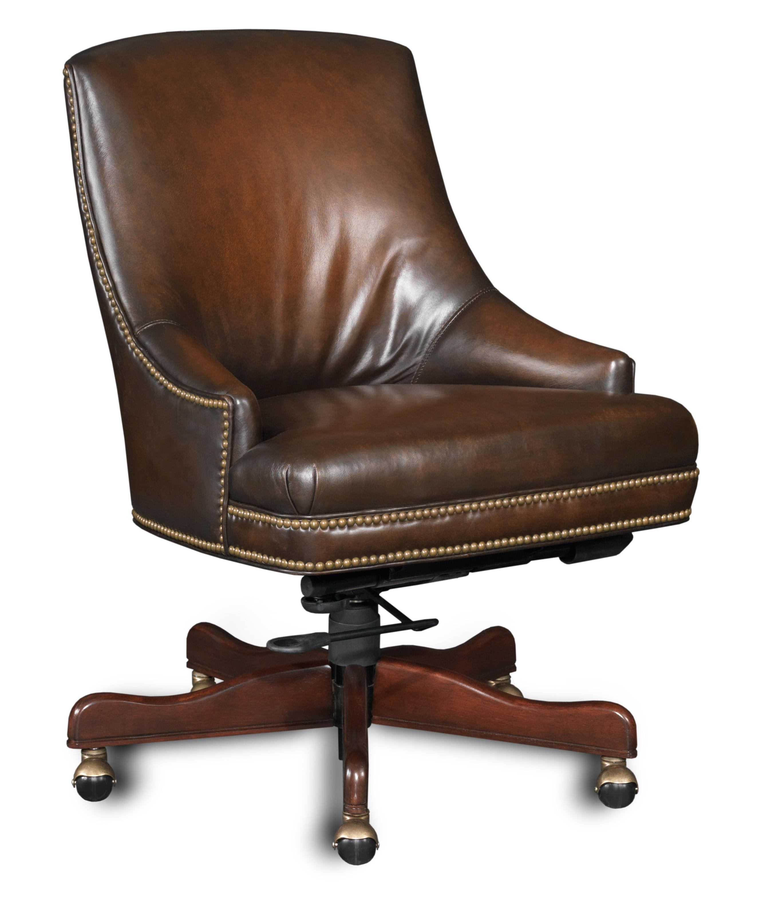 Executive Seating Executive Swivel Tilt Chair by Hooker Furniture at Miller Waldrop Furniture and Decor