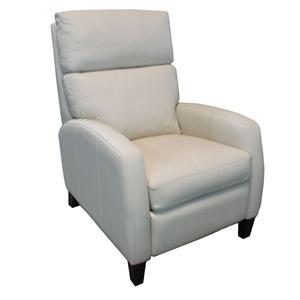 Hooker Furniture Reclining Chairs Transitional High Leg Recliner