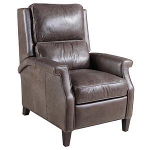 Hooker Furniture Reclining Chairs Transitional High Leg Recliner Chair