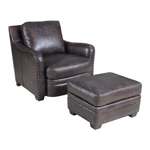 Hooker Furniture SS132 Chair and Ottoman