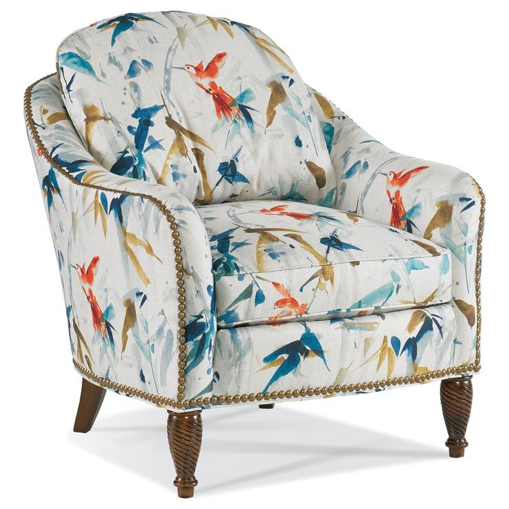 1309 Chair by Sherrill at Stuckey Furniture