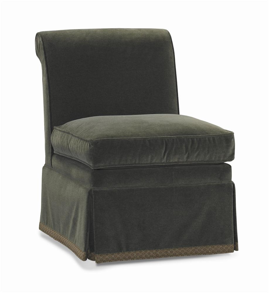 Dan Carithers Armless Chair by Sherrill at Baer's Furniture