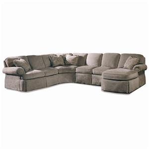 Sherrill Design Your Own 5 Pc. Sectional
