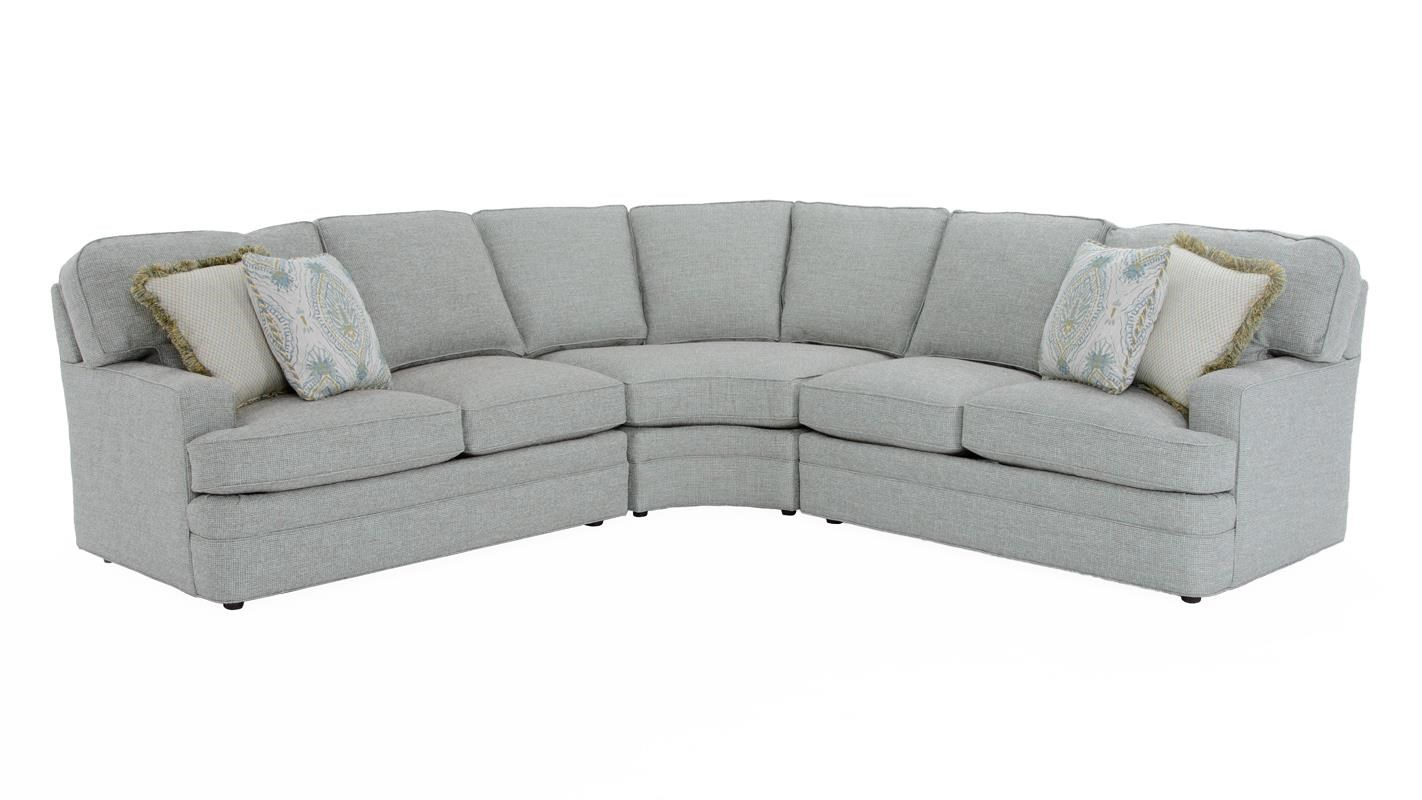 Design Your Own 3 Pc Sectional Sofa by Sherrill at Baer's Furniture