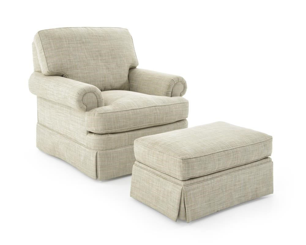 Design Your Own Chair and Ottoman Set by Sherrill at Baer's Furniture