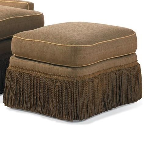 Traditional Traditional Ottoman by Sherrill at Baer's Furniture