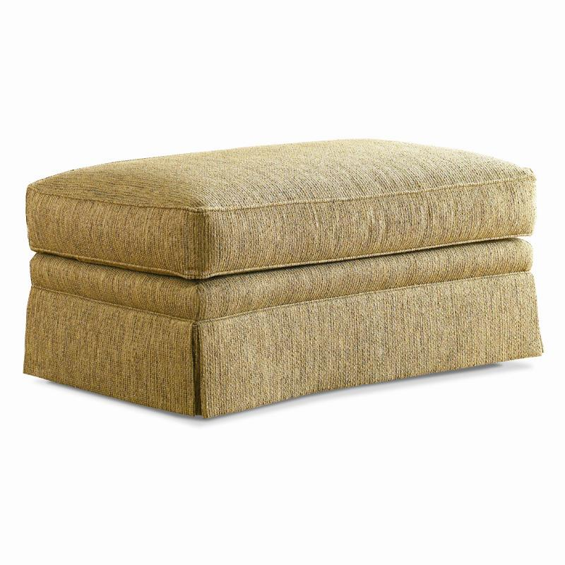 Traditional Ottoman by Sherrill at Baer's Furniture