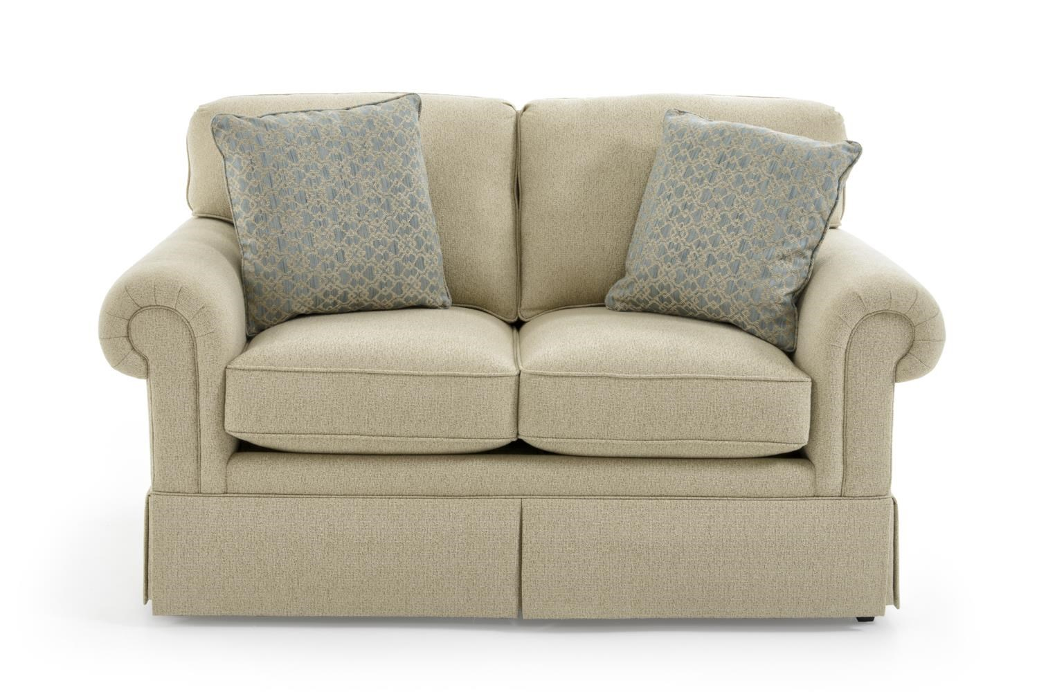 Traditional Loveseat by Sherrill at Baer's Furniture
