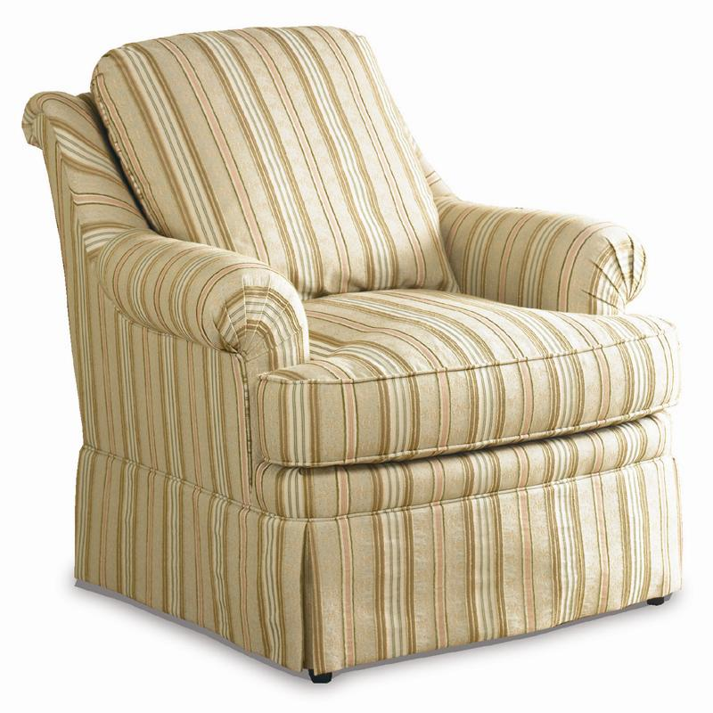 Traditional Lounge Chair by Sherrill at Alison Craig Home Furnishings