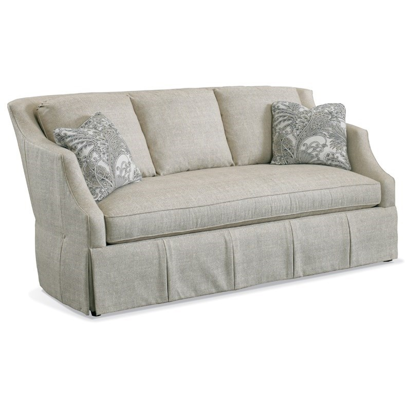 Traditional Upholstered Sofa by Sherrill at Alison Craig Home Furnishings
