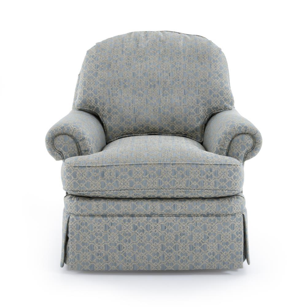 Traditional Swivel Chair by Sherrill at Baer's Furniture