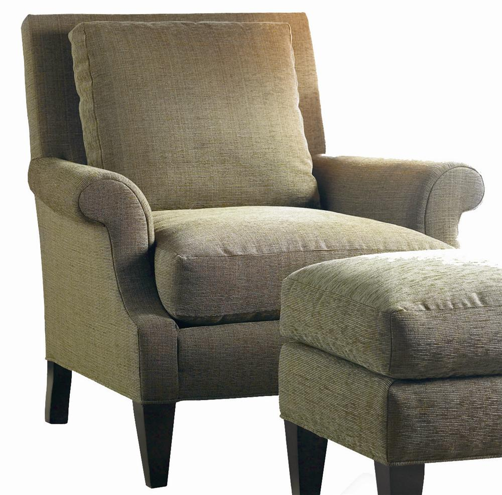 Transitional Lounge Chair by Sherrill at Baer's Furniture