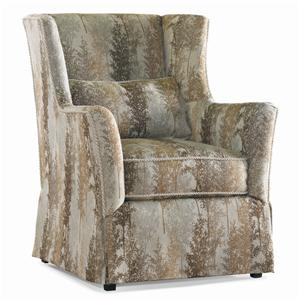 Sherrill Transitional Wing Chair