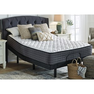 "King 13"" Firm Pocketed Coil Mattress and Good Adjustable Base"