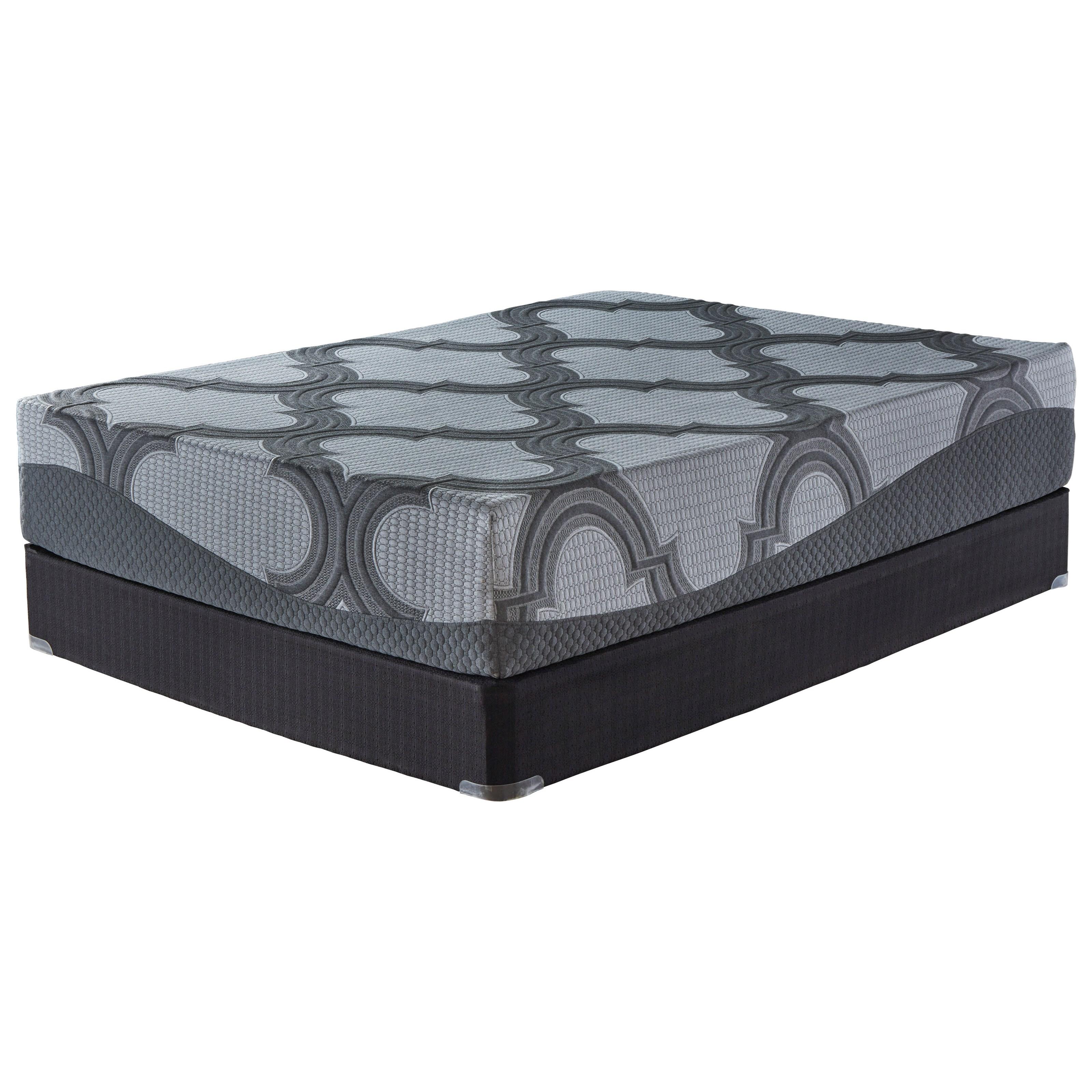 "M628 Cal King 12"" Firm Hybrid Mattress Set by Sierra Sleep at Suburban Furniture"