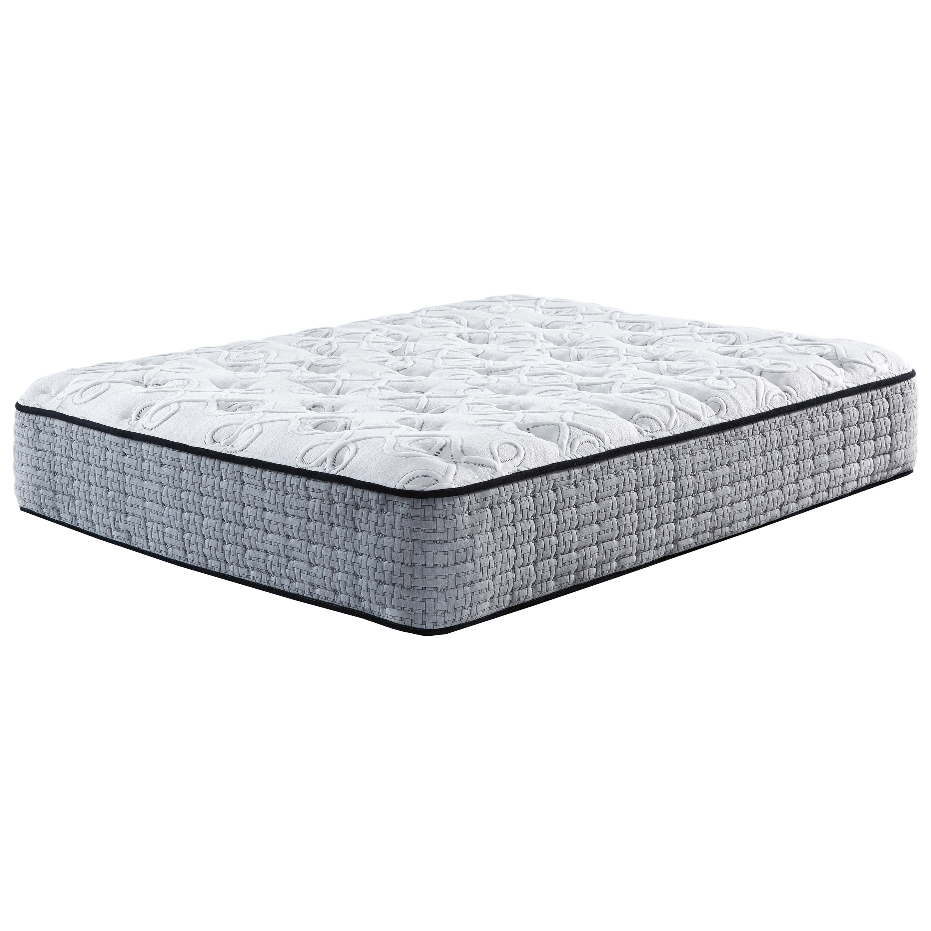 M631 Mt Rogers Plush King Pocketed Coil Mattress by Sierra Sleep at Simply Home by Lindy's